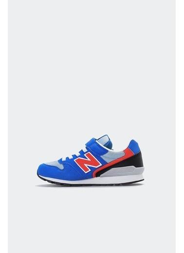 New Balance Erkek Bebek  Spor Ayakkabı IV996BLR Mavi